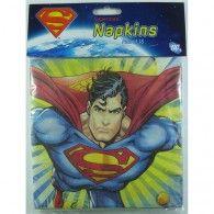 Superman Luncheon Napkins Pkt16 $8.95 $8.95