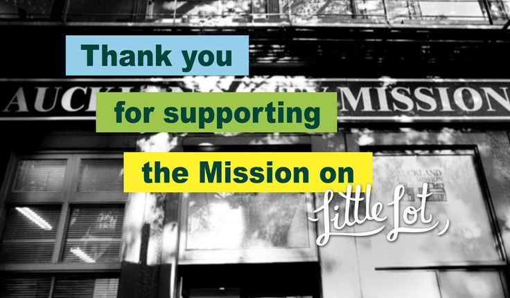 Little Lot | Thank You from Auckland City Mission | Feb 20
