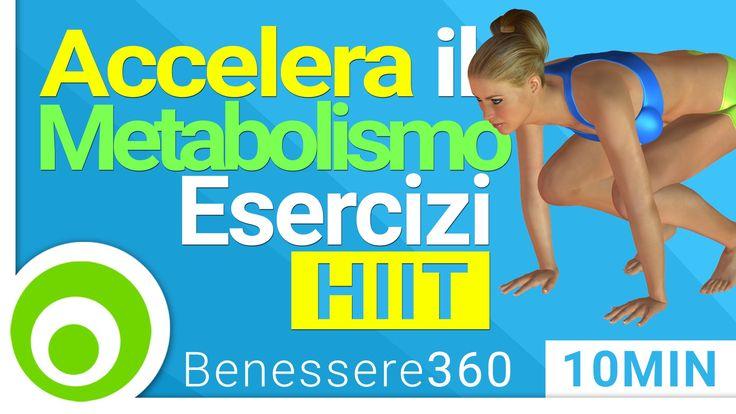 Allenamento Completo per Accelerare il Metabolismo e Bruciare Grassi | F...