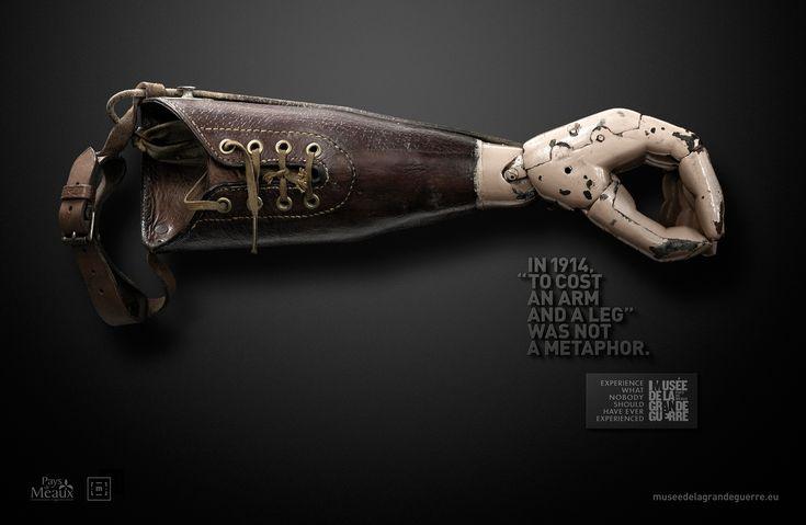 Musée de la Grande Guerre du pays de Meaux Prosthetic arm