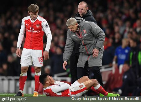 """Alexis Sánchez went full blown """"Rivaldo at the 2002 World Cup""""  on Wednesday night, embarrassing himself and Arsenal with his dreadful simulation"""