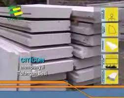 Cara Membuat Beton Bermutu Tinggi - Beton yang bermutu tinggi terbuat dari material-material dengan perbandingan yang tepat, panel beton ringan.