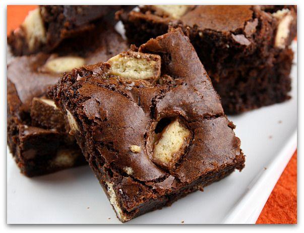 Twix Bar Brownies 3 (recipe girl)