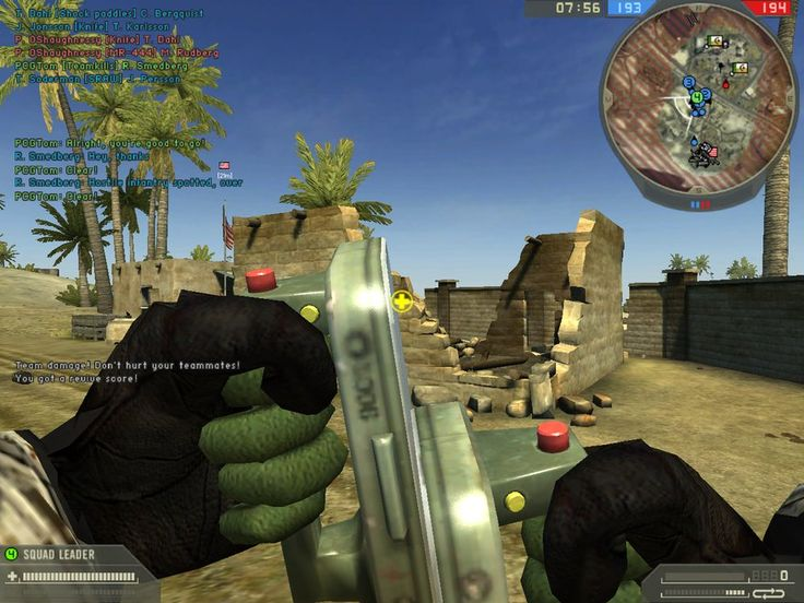 This is why you test!  Battlefield 2's tumbling ball of murderous medics