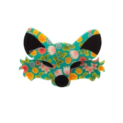 foxy brooch by Erstwilder