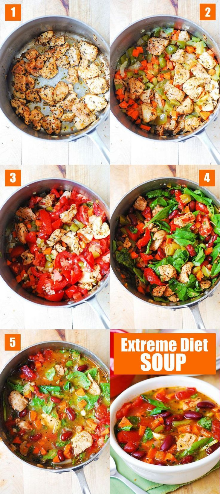 Lose Up To 6 Pounds Per Week With The Extreme Diet Soup