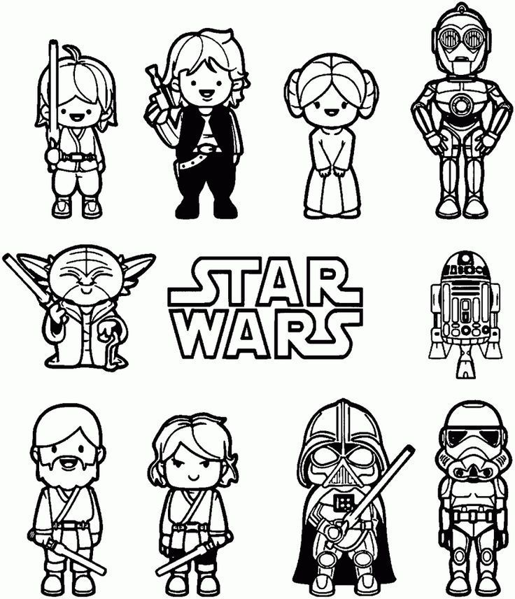 Star Wars Coloring Pages Free Printable Star Wars Coloring Pages