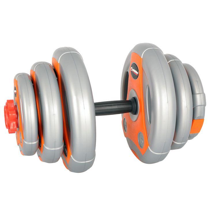 Zestaw z obciążeniem inSPORTline 18 kg