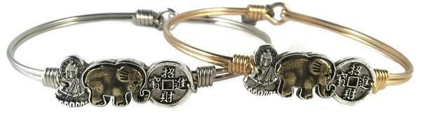 Trilogy Bracelet- Buddha • Elephant • Coin