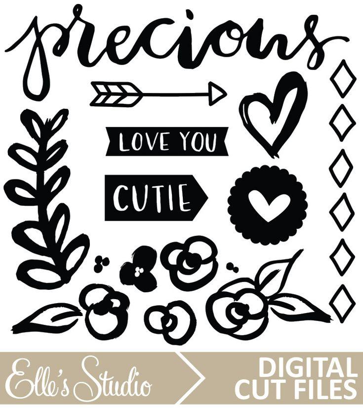 Elle's Studio Cienna Digital Cut File
