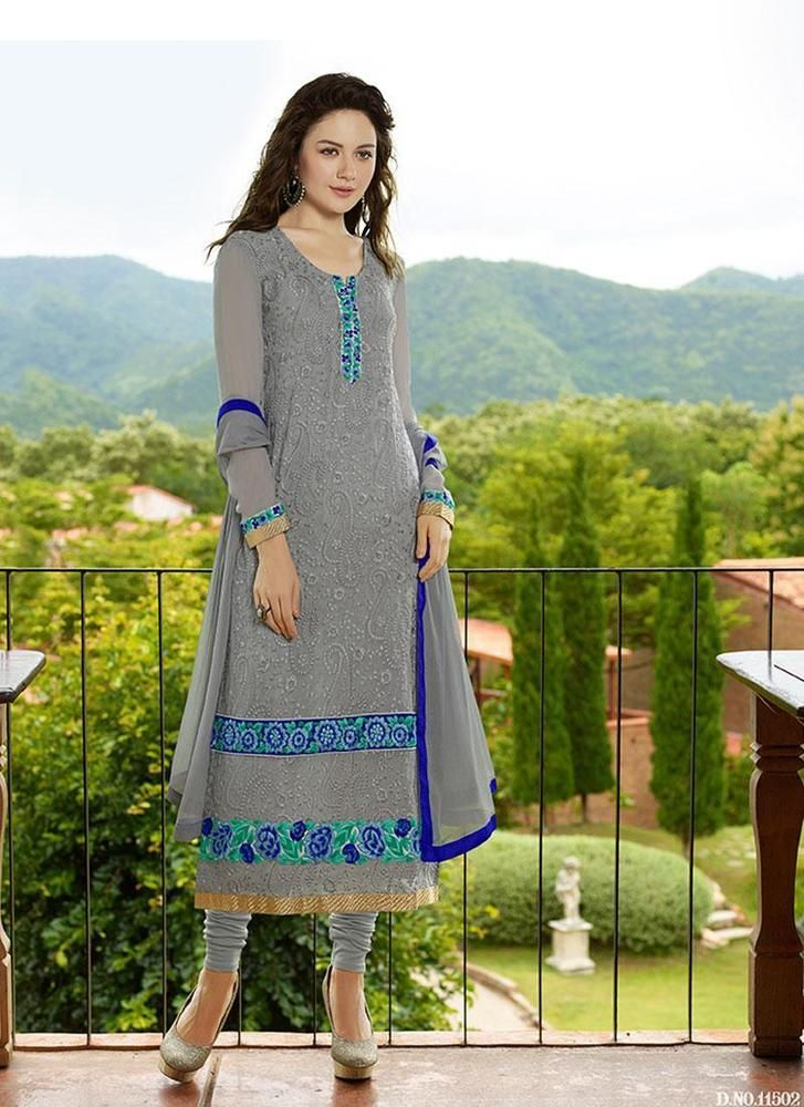 Anarkali Salwar Pakistani Designer Kameez Indian Bollywood New Wedding Suit 1997…