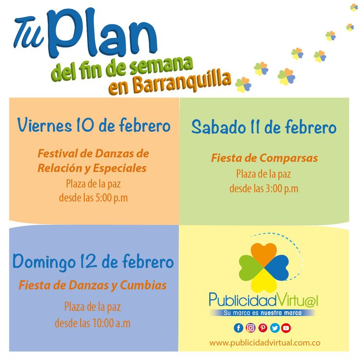 Tu plan de fin de semana en Barranquilla con @publi