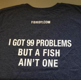 e2199336f i got 99 problems but a fish ain't one | Fishing | Tank tops, Tops, Fish