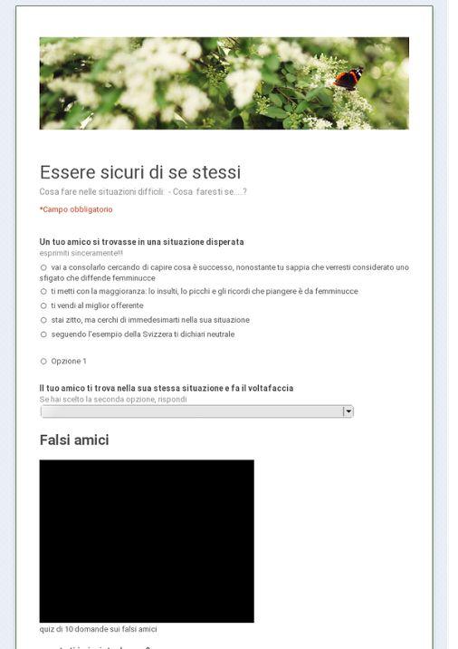 Seconde on line - Sondaggio Pubblico - Community - Google+