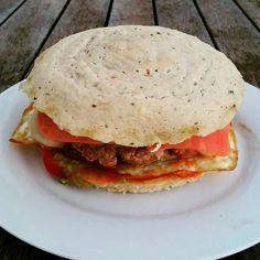 Cocina con Clau: Hamburguesas sin Hidratos (con Pan de Atún)