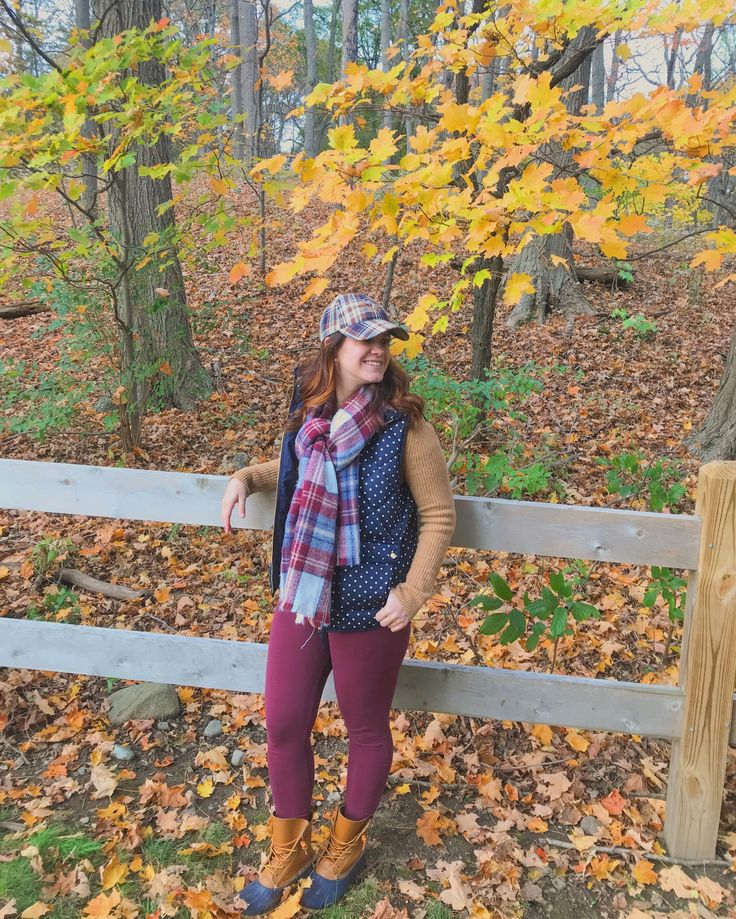 Fall outfit, LL Bean Boots style