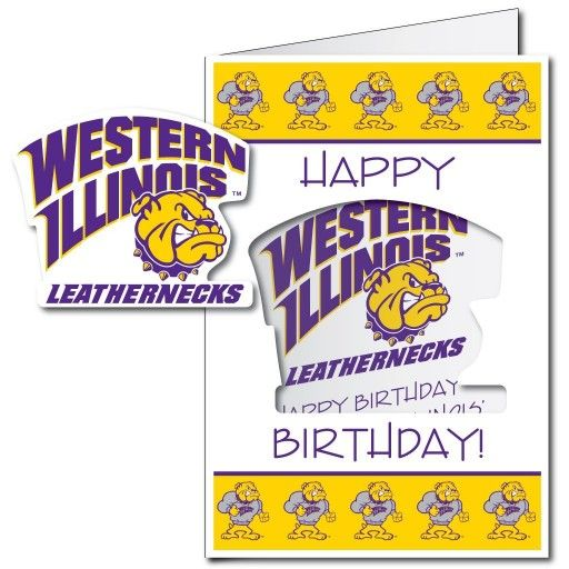 63 best giant birthday cards images on pinterest envelopes funny western illinois university 2x3 giant birthday greeting card plus yard sign m4hsunfo Gallery