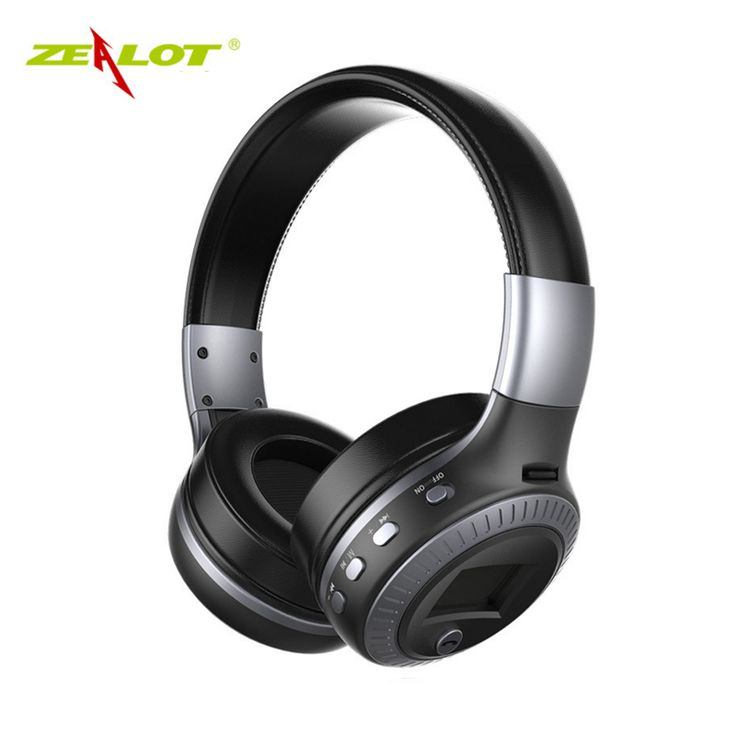 Good quality Original Zealot B19 Stereo Wireless Headset Bluetooth headphone Headband Headset with FM TF LED indicators for mp3 //Price: $27.38//     #onlineshop