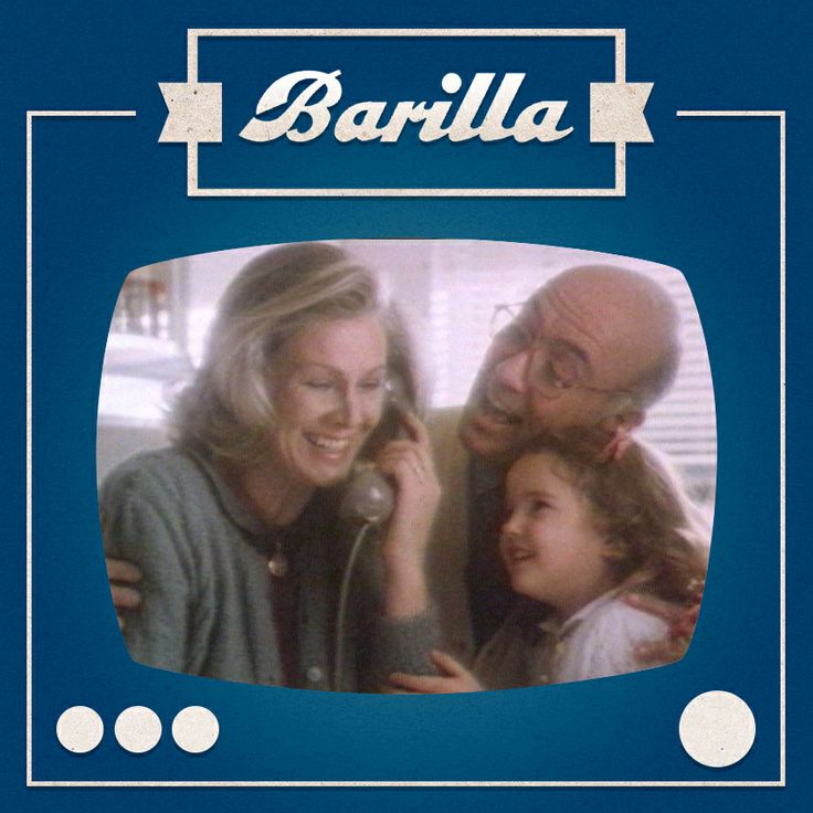 Nonni e nipotina rispondono al telefono: è arrivata una bella notizia! Uno spot indimenticabile #Barilla del 1986.