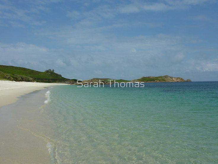 Crystal Clear ~ St Martin's, The Isles of Scilly by Sarah Thomas