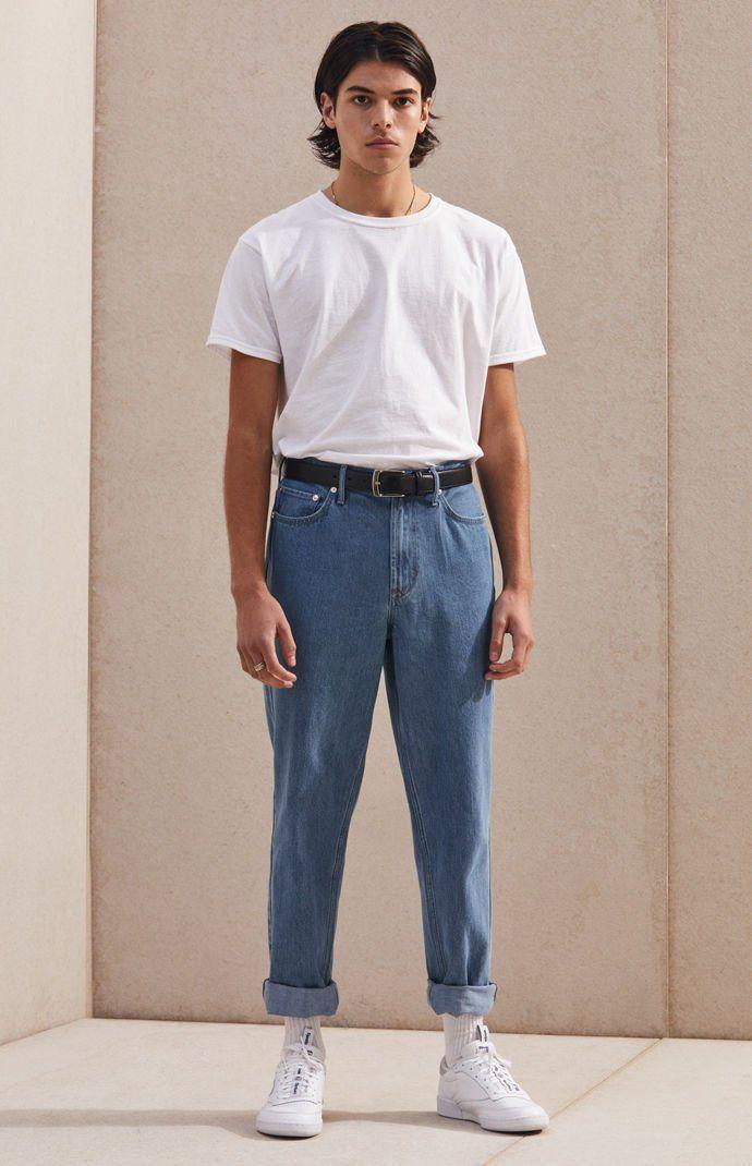 90fe550bac PacSun Slim Fit Jeans - medium indigo