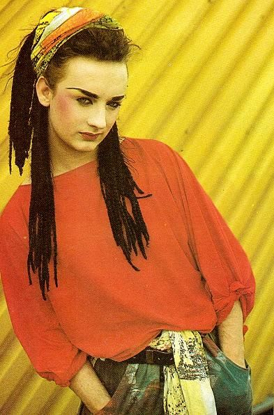 CULTURE CLUB PHOTOGRAPHED BY DEREK RIDGERS