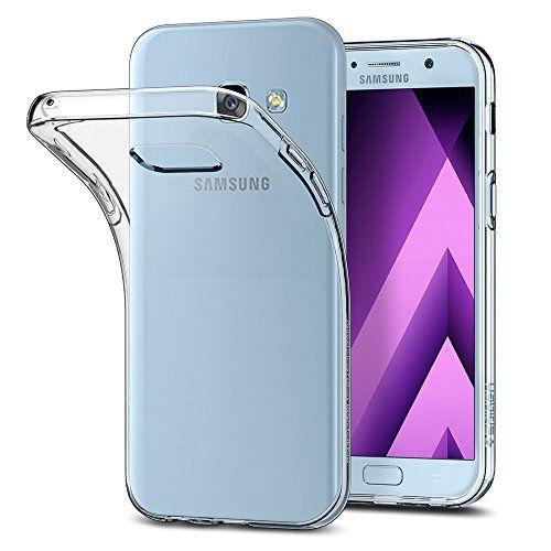 Gutes Produkt Samsung Galaxy A5 2017 Hulle Spigen Liquid Crystal Soft Flex Silikon Crystal Clear Transparent Ult Samsung Schutzhulle Silikon Handyhullen