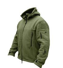 Homem Velo Jaqueta Softshell tad Tático militar Polartec Térmica Polar Outerwear Casaco Com Capuz Roupas Do Exército(China (Mainland))