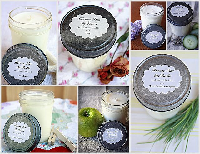 inspired by charm reviews: #IBCOMFEDGPPE Day Three: Harmony Farm Candles