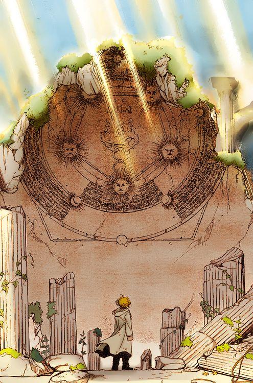 Fullmetal Alchemist: Brotherhood - Ed in Xerxes