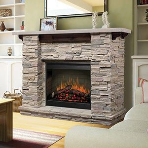 105 best Beautiful Fireplaces images on Pinterest | Electric ...