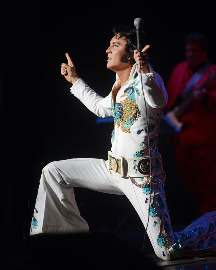 Elvis impersonator Ben Portsmouth. He is amazing....