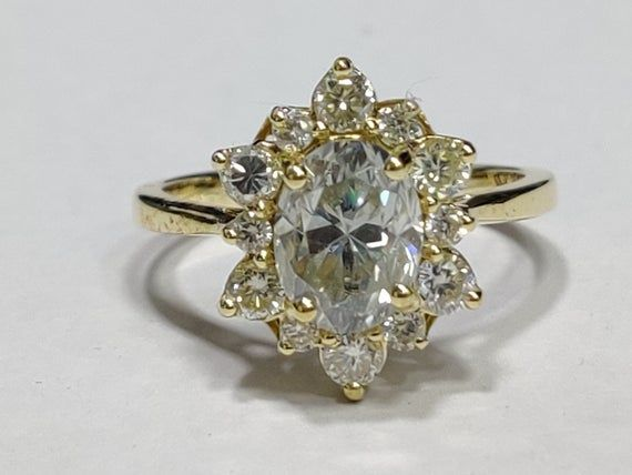 Pin On Moissanite Ring