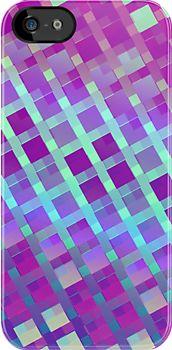 Diamonds III  [ iPad / iPhone / iPod / Samsung Case] by Damienne Bingham