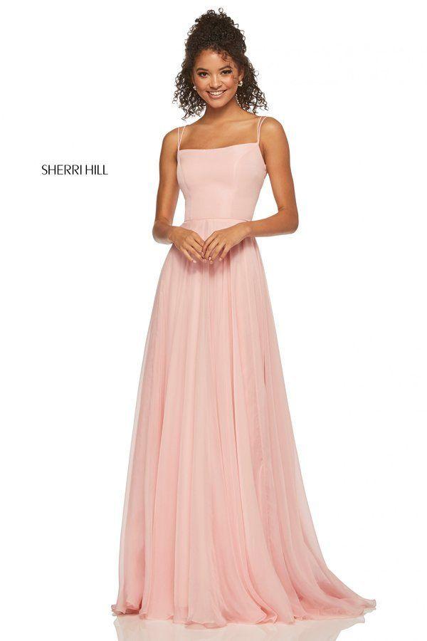 d8670ca1d02e Sherri Hill Style 52839 Purple Ball Dresses, Gold Prom Dresses, Sherri Hill  Prom Dresses