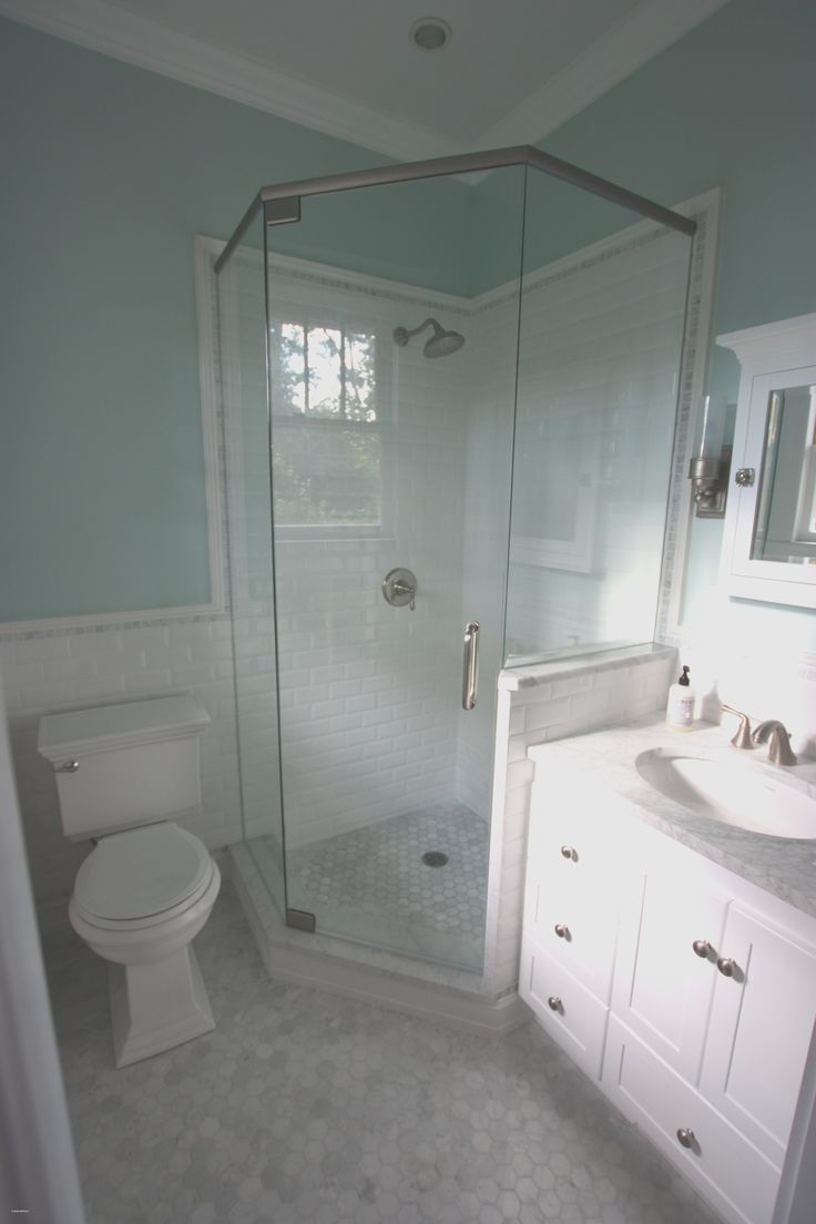 Ideas para baños pequeños – Ideas frescas para baños pequeños, antes y después de Farmhouse Ba …