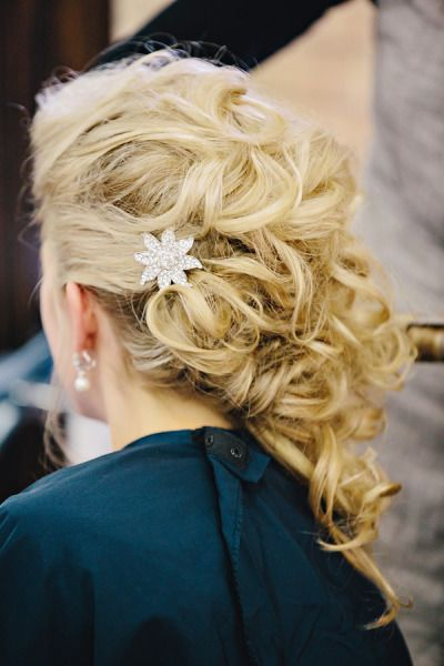 Bridal hair: http://www.stylemepretty.com/little-black-book-blog/2013/10/08/grand-rapids-wedding-from-k-holly-photography-2/ | Photography: K. Holly - http://www.kholly.com/