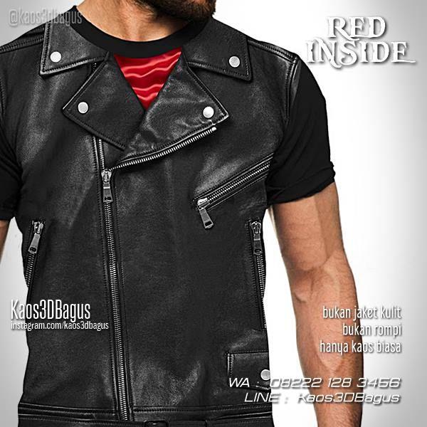 Kaos 3D JAKET KULIT, Black Leather Jacket 3D Tshirt, Kaos Keren, Kaos 3D Gambar Unik, Kaos Lucu, Hadiah Ultah, Kaos Dugem, Kaos Clubbing, WA : 08222 128 3456, LINE : Kaos3DBagus, https://kaos3dbagus.wordpress.com/2017/03/08/kaos-jas-kaos-jaket-kulit-kaos3d-fashion/