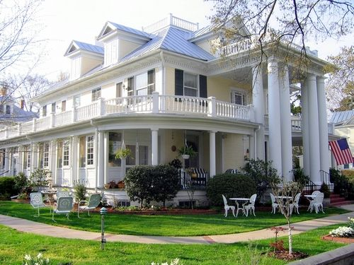 columns and porches.  perfection