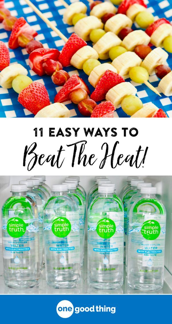 Here S 12 Easy Ways To Cool Down Quickly And Beat The Heat Fun To Be One Cool Stuff Warm Drink