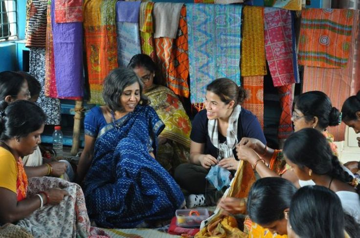 How Anchal is giving impoverished women jobs in the textiles industry—and an alternative to a life to prostitution.