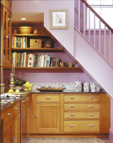 kitchen staircase | Kitchens Under The Stairs: