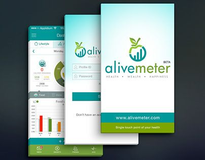 """Check out new work on my @Behance portfolio: """"Fitness (Healthcare) App"""" http://on.be.net/1KiNCSw"""