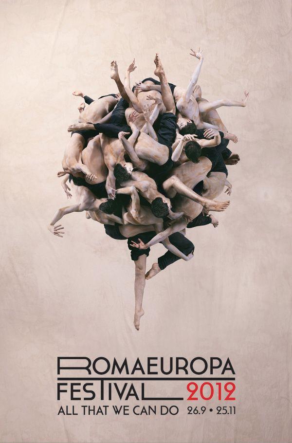 Romaeuropa by Matteo Pozzi, via Behance