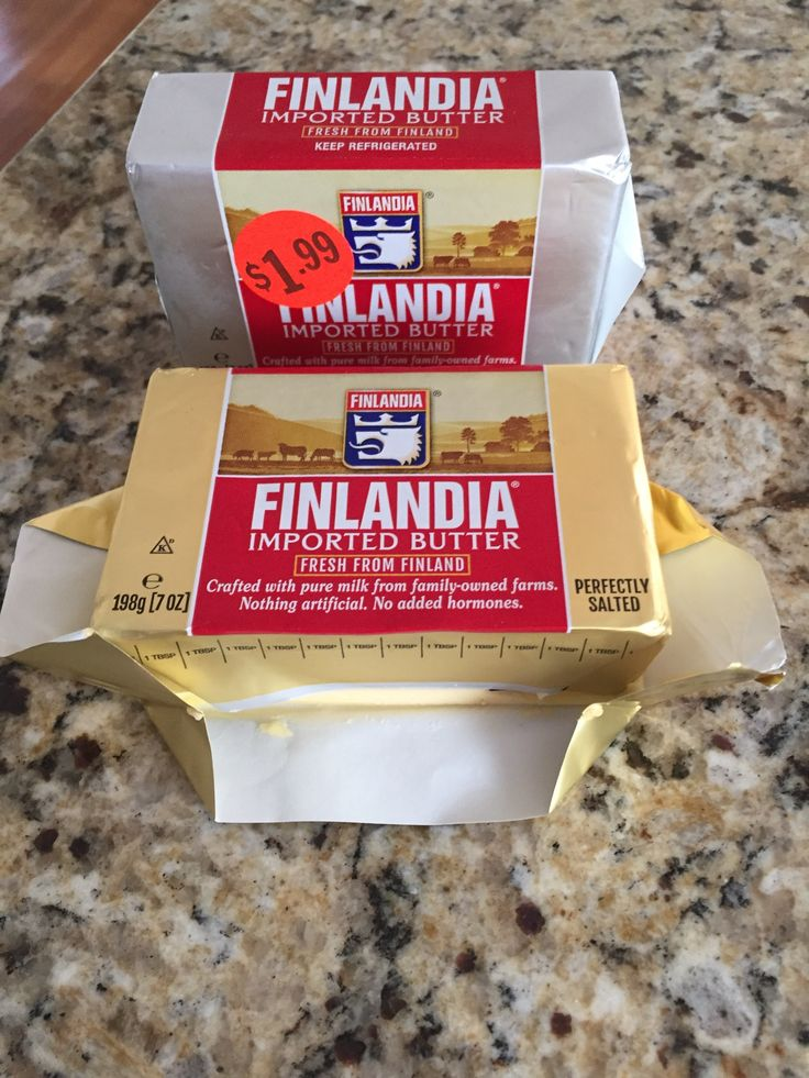 Creamy, spreadable, taste delicious with ingredients you can read best butter!  #FinlandiaButter #GotItFree