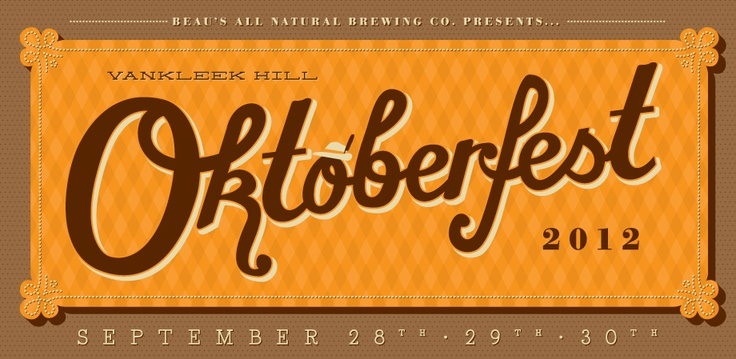 Beau's Presents... Vankleek Hill Oktoberfest! Tickets are selling fast - don't miss out!
