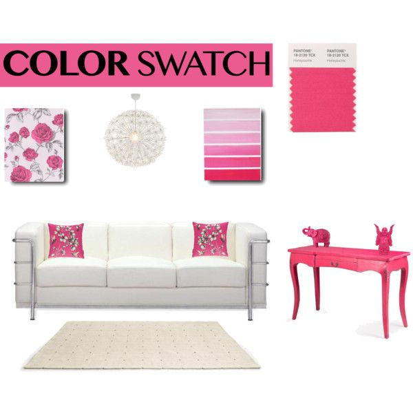 Color Swatch by hybrid-rainbow on Polyvore featuring polyvore, interior, interiors, interior design, home, home decor, interior decorating, Zuo, HARLEQUIN, Dot & Bo and Mario Luca Giusti
