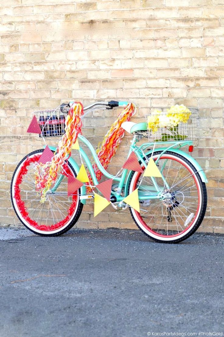 12 best bike parade decor ideas images on pinterest bike