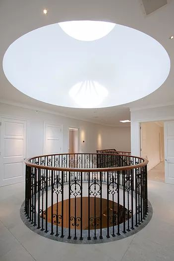 Atrium hallway top floor by Macassar Properties - London investment and development company