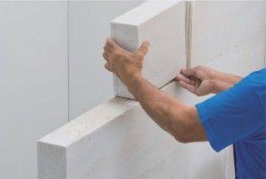 Monter une cloison en béton cellulaire ou en carreaux de plâtre | DIY - Faites le vous-même avec Mr.Bricolage